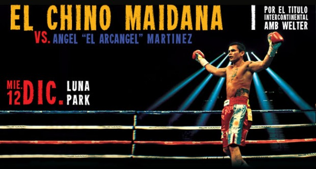 Maidana vs Garcia