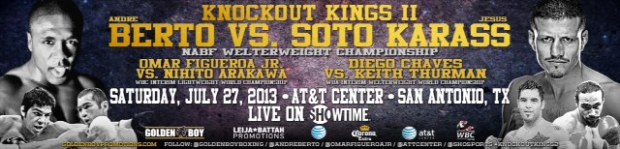 ANDRE BERTO vs. JESUS SOTO KARASS MEDIA WORKOUT QUOTES
