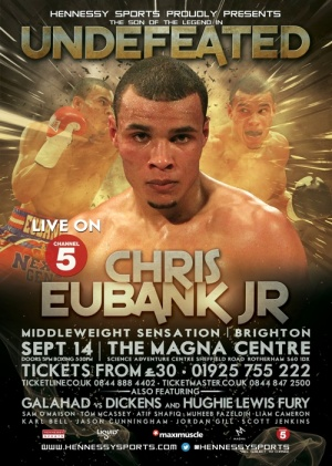 "REAL COMBAT MEDIA UK: EUBANK JR READY TO GIVE A ""DEVASTATING"" DISPLAY‏"