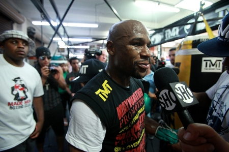 FLOYD MAYWEATHER MEDIA DAY QUOTES & PHOTOS‏