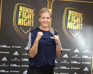 Klara Svensson added to Nordic Fight Night talents