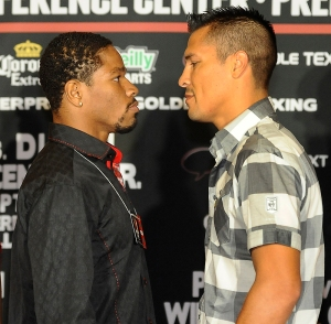 SHAWN PORTER VS. JULIO DIAZ II THURSDAY IN LAS VEGAS