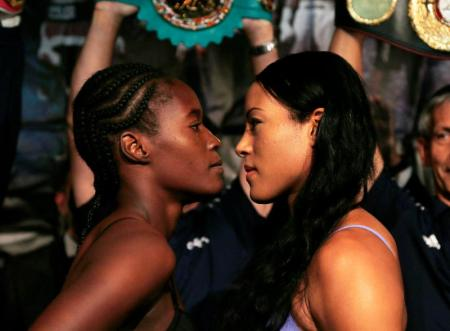 RCM WOMENS BOXING: Weigh-in for Nielsen-Majewski, Braekhus-Castillo